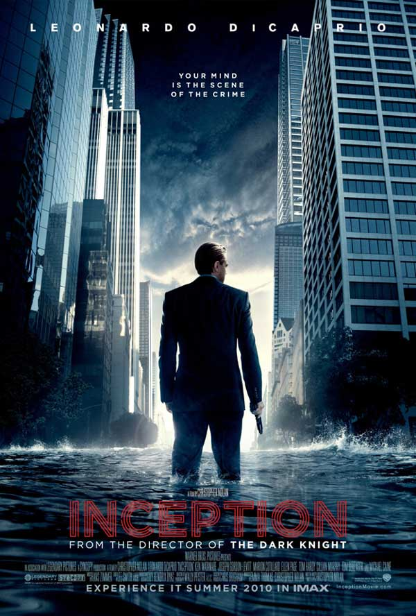 Origen, inception - cartel original