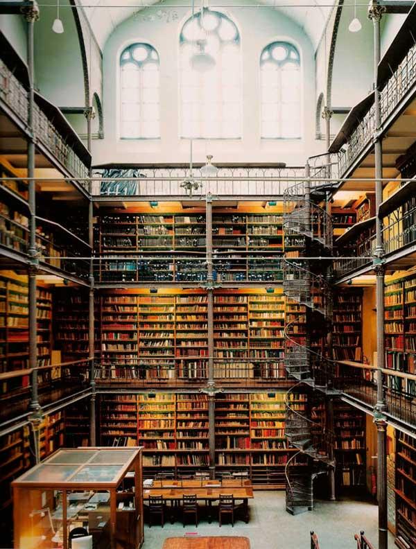 La Biblioteca escondida en Ámsterdam