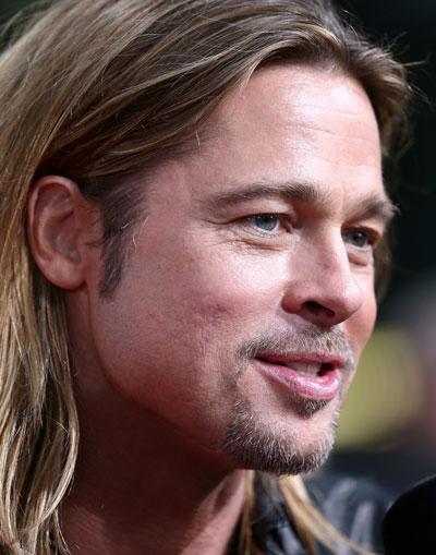 Brad Pitt Foto Guerra Mundial Z Premiere En Berl 237 N 63 De 89