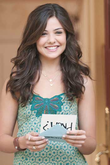 Danielle Campbell Prom