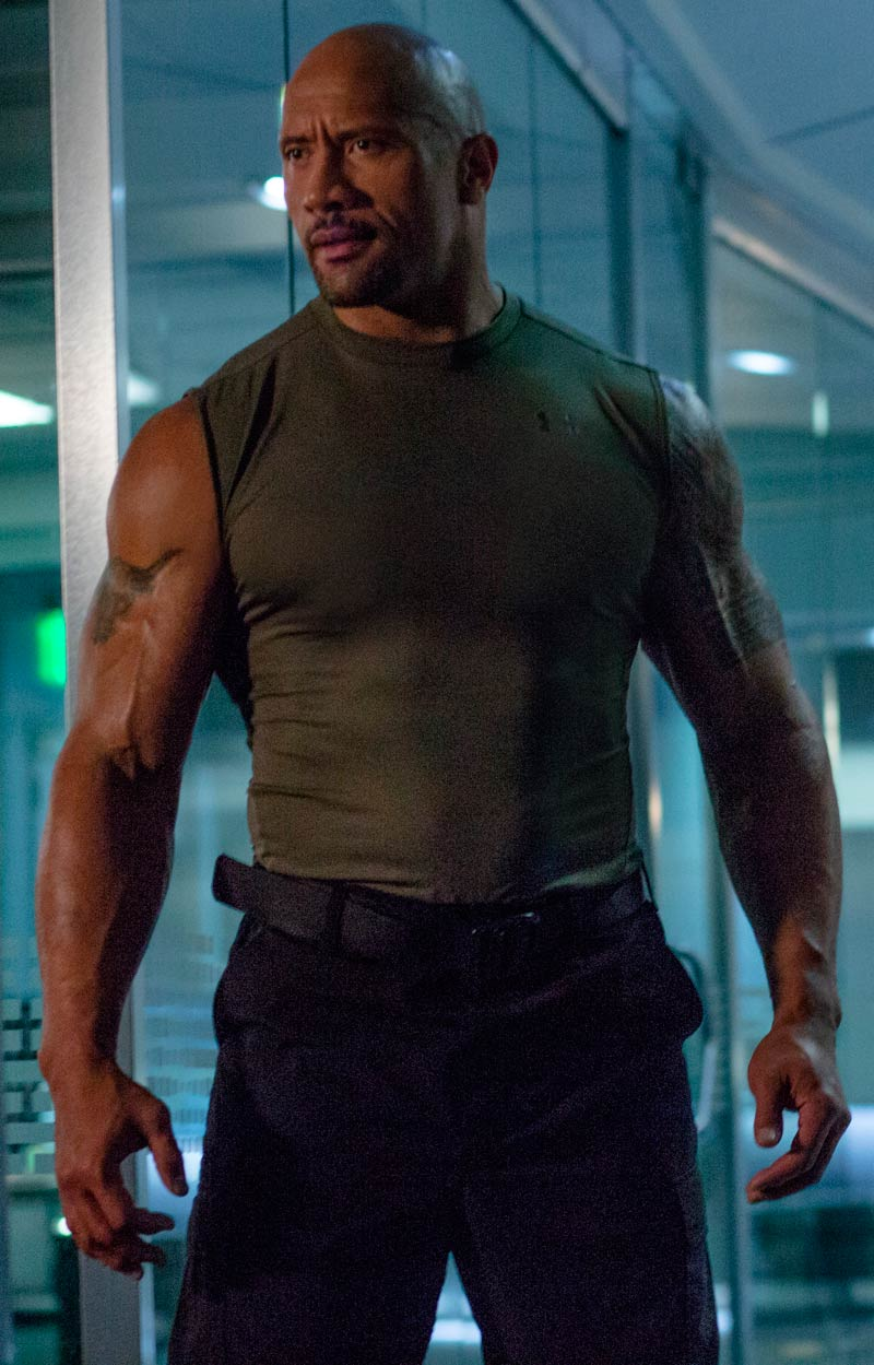 Dwayne Johnson Fast & Furious 7