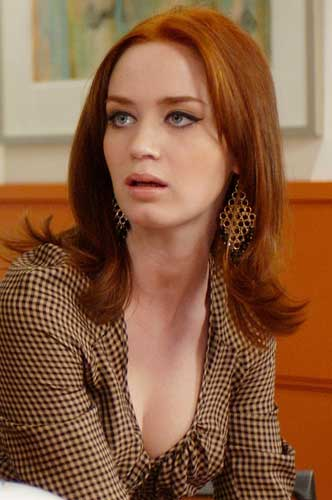 ... many merits of Emily in The Devil Wears Prada (played by Emily Blunt).