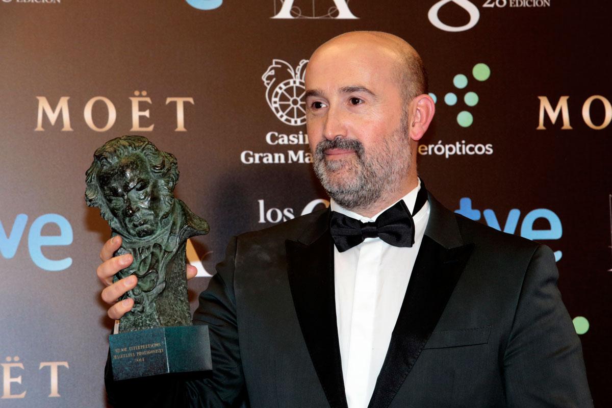 Javier Cámara ganador del Goya 2014 al mejor actor protagonista