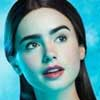 Lily Collins Blancanieves