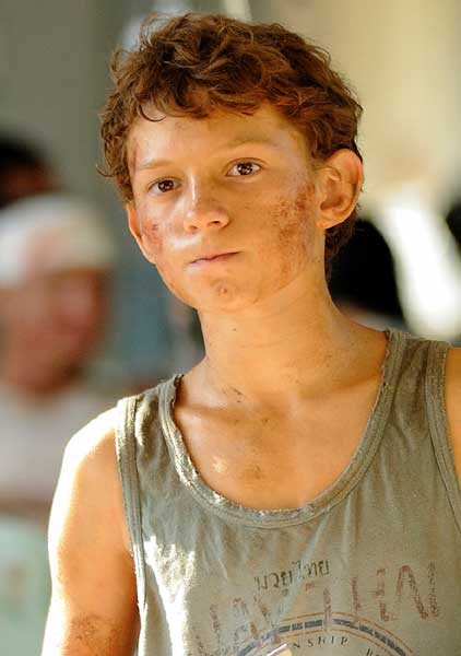 Tom Holland Lo imposible