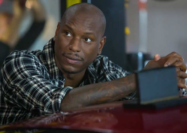 Tyrese Gibson Fast & Furious 8