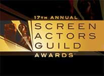 Candidatos a la 17 edicion de los Screen Actors Guild Awards