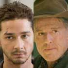 Shia LaBeouf y Robert Redford en 'The Company You Keep'