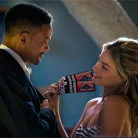Will Smith y Margot Robbie en 'Suicide squad'