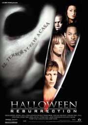Cartel de Halloween Resurrection