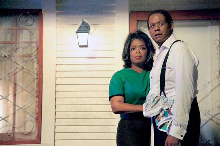 Forest Whitaker y Oprah Winfrey en El mayordomo