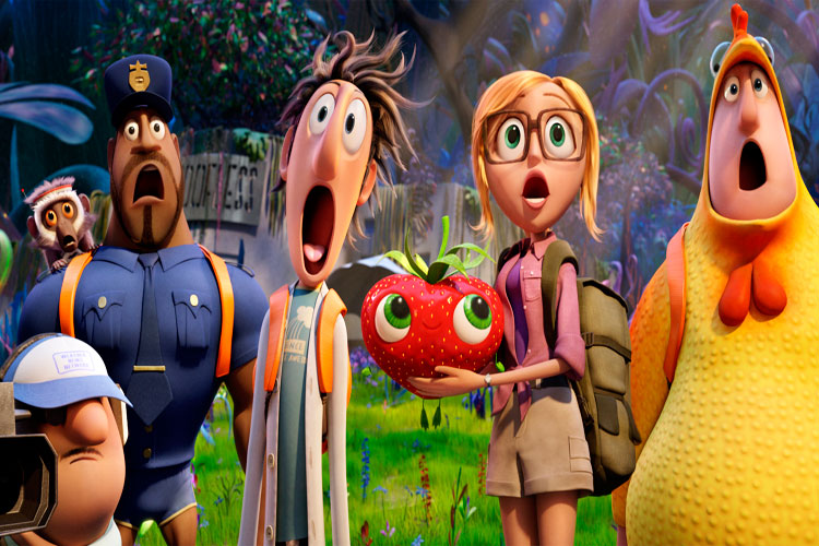 Lluvia de albóndigas 2 - fotograma de la película