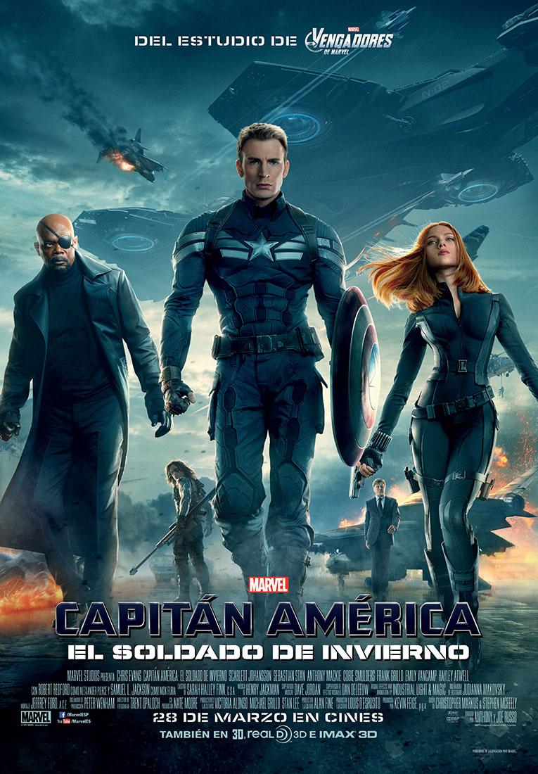 Resultado de imagen para Capitán América: El Soldado de Invierno