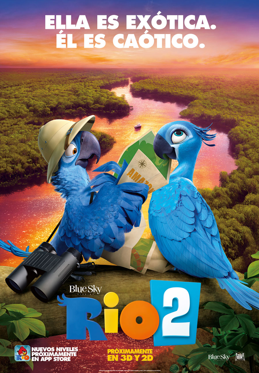 cartel de la pelicula rio