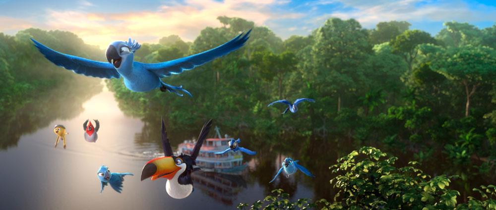 Río 2 - fotograma de la película de animación