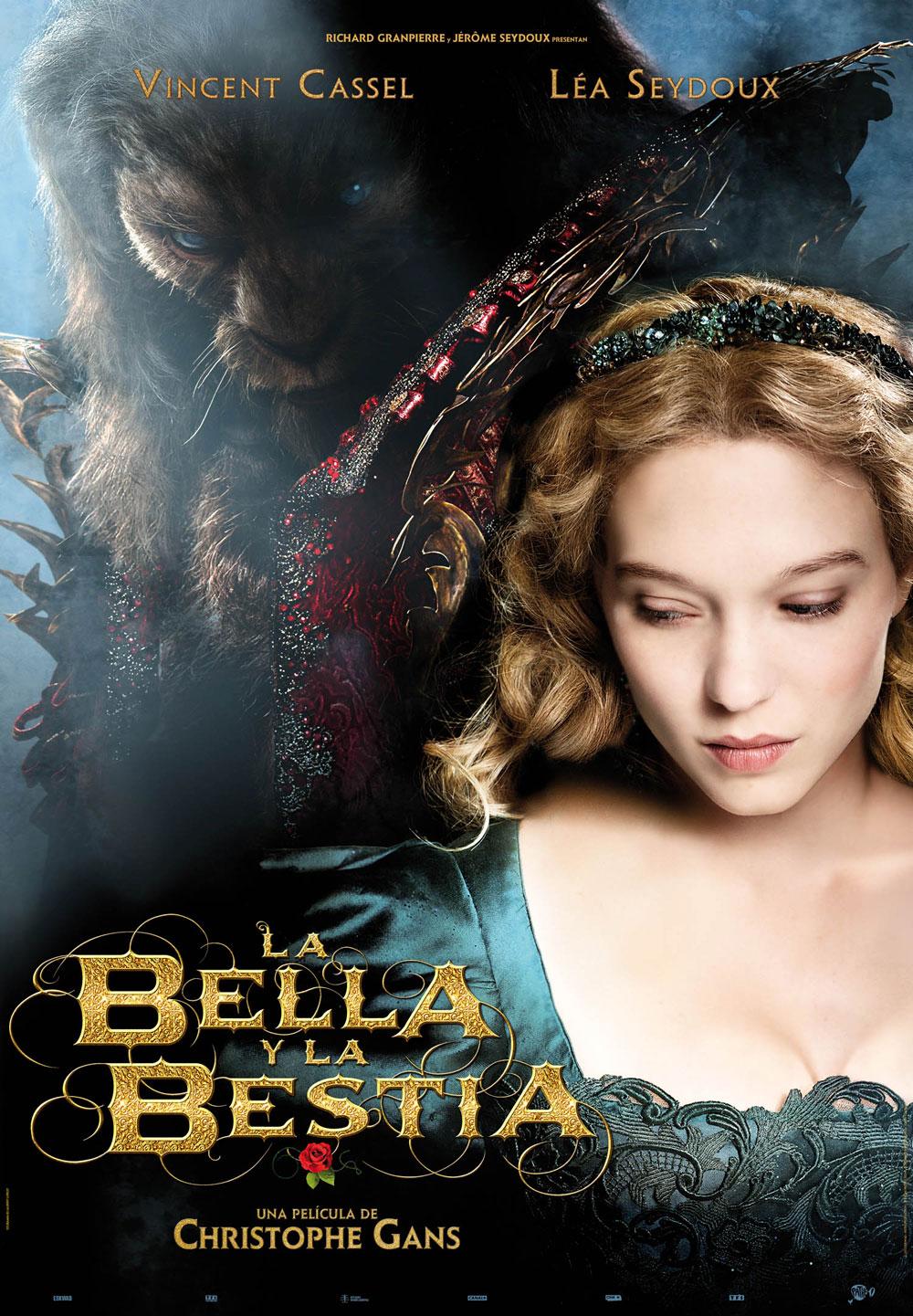 Cartel de la película La bella y la bestia. Póster en alta ...