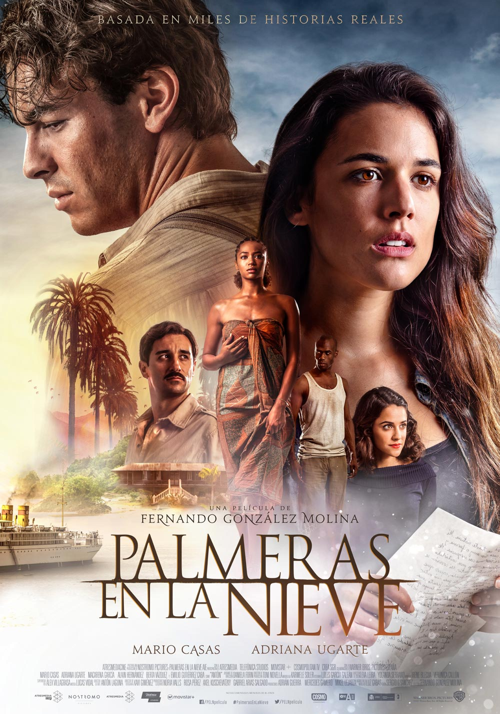 Palmeras en la nieve - cartel final