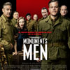 Monuments men cartel reducido