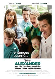 Cartel de Alexander y el día terrible, horrible, espantoso, horroroso
