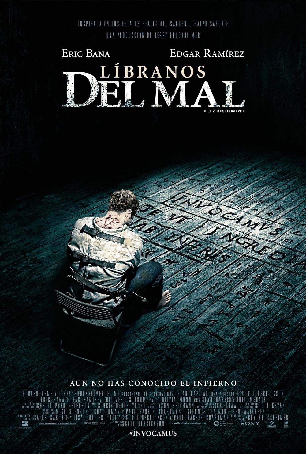 Líbranos del mal cartel de la película