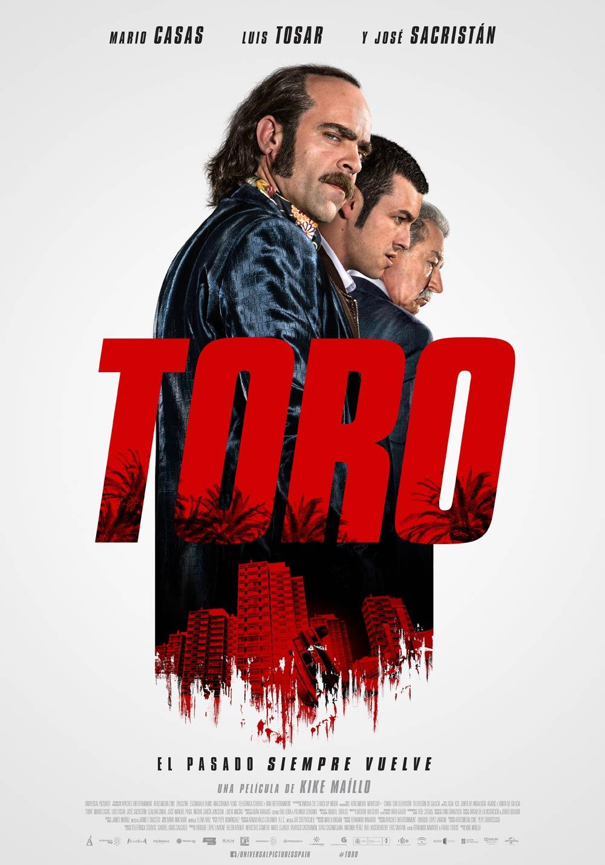 Toro, el cartel de la película