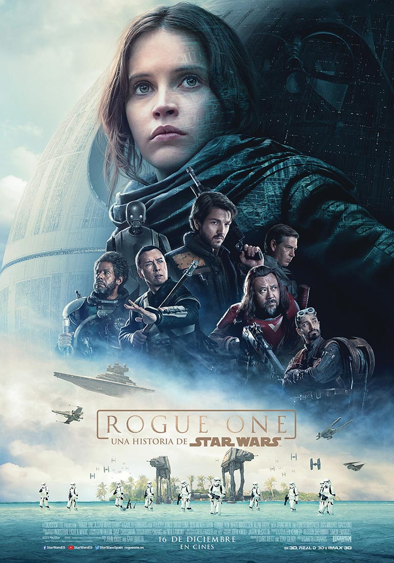 Rogue one: Una historia de Star Wars - cartel