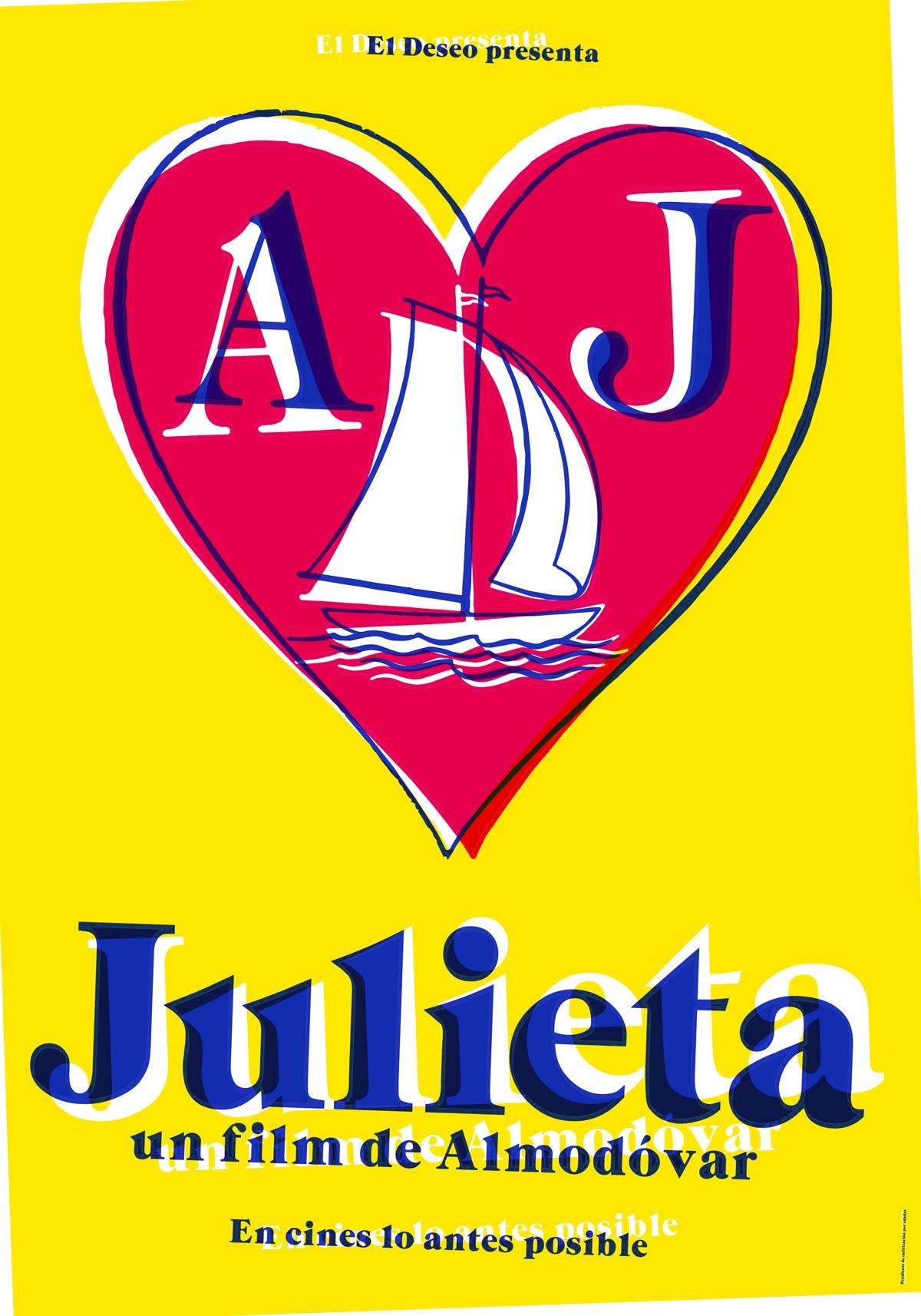 cartel de la pelicula julieta