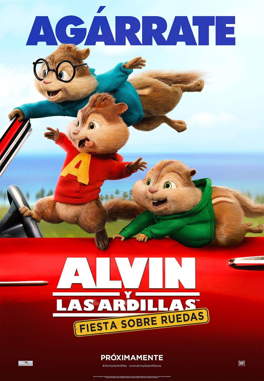 """Zinema: """"Albin y las ardillas. Fiesta sobre ruedas"""" @ Sarobe"""