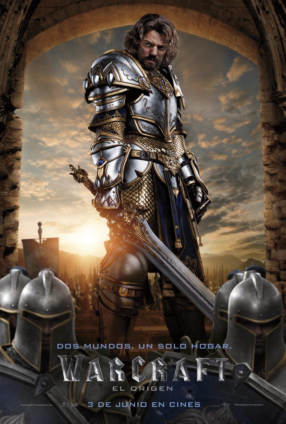 poster de la pelicula warcraft