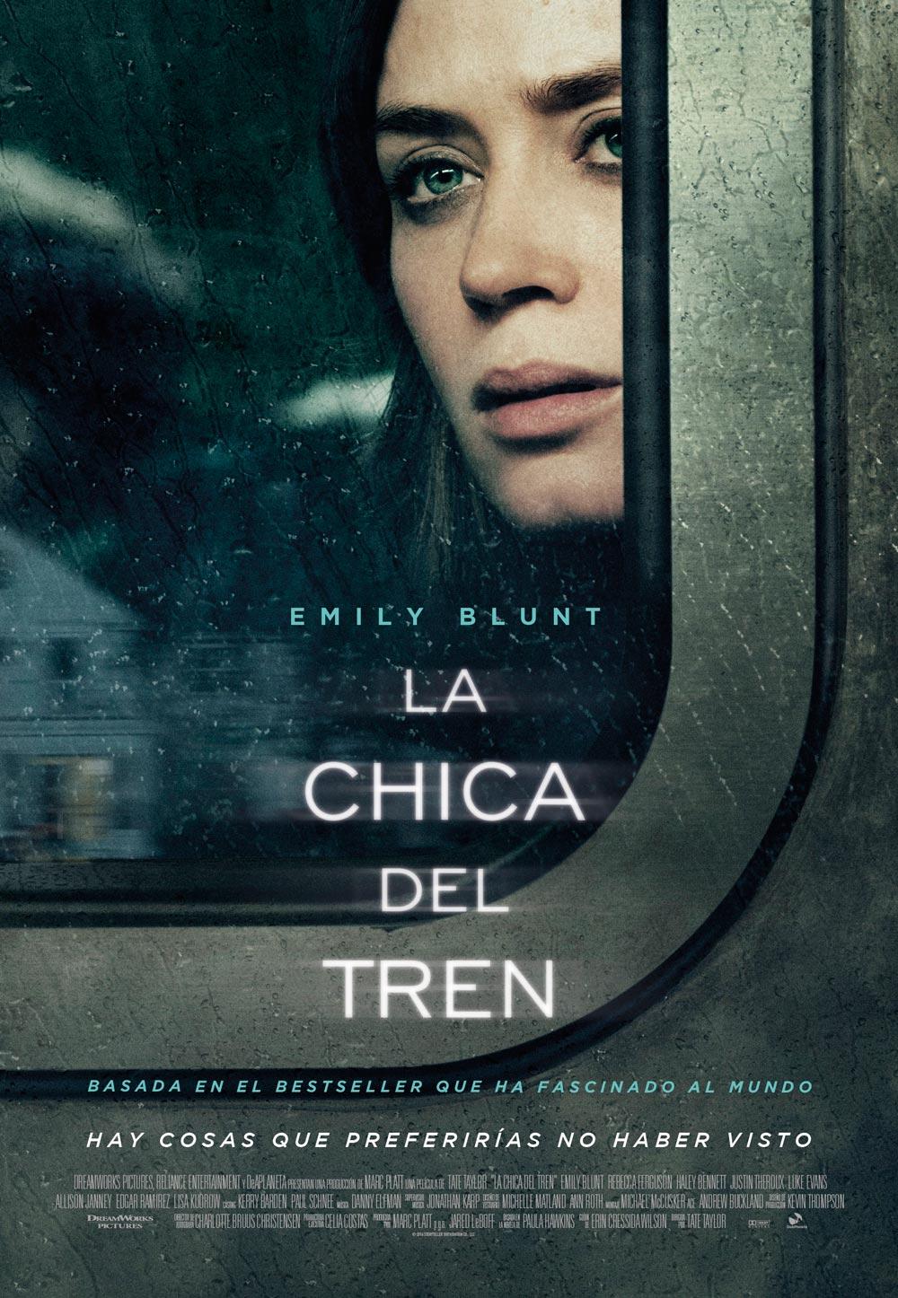 La chica del tren cartel de la película 2 de 2
