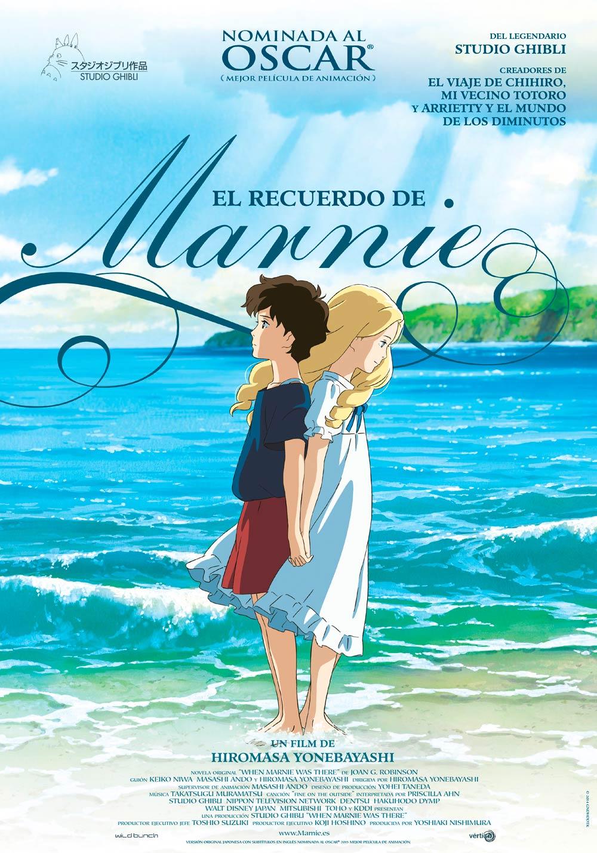 Studio Ghibli - El Recuerdo de Marnie | 1080p | DUAL Lat-Jap