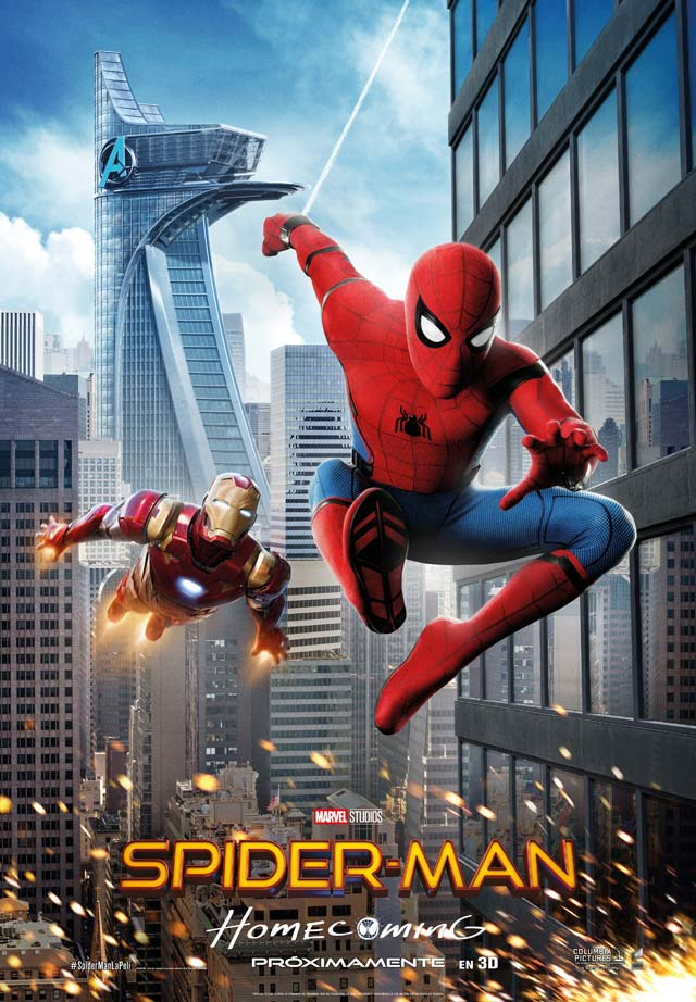Spider-Man: Homecoming - cartel