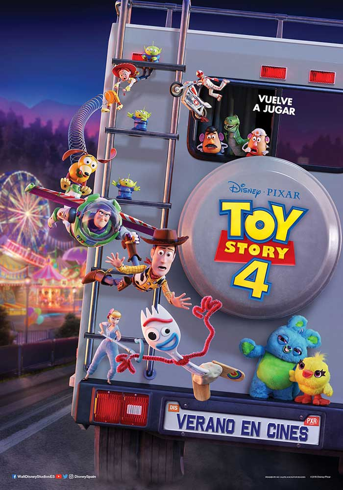 Toy story 4 - cartel