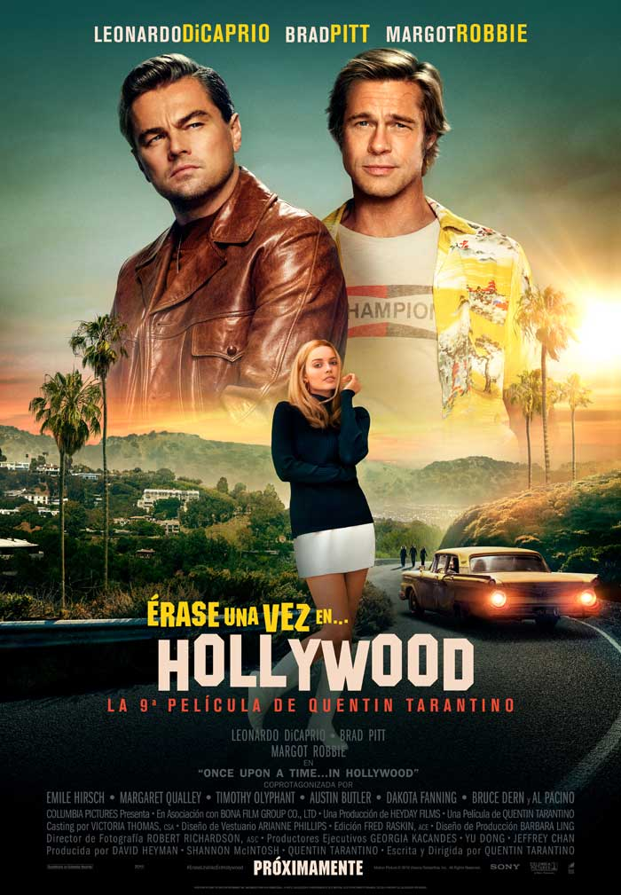 Érase una vez en... Hollywood - cartel