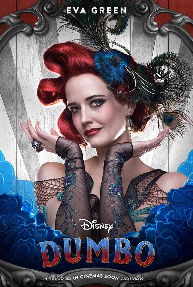 Dumbo - cartel Eva Green
