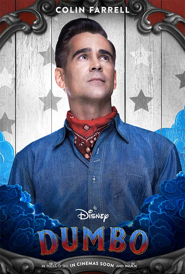 Dumbo - cartel Colin Farrell