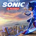 Sonic la película - cartel reducido