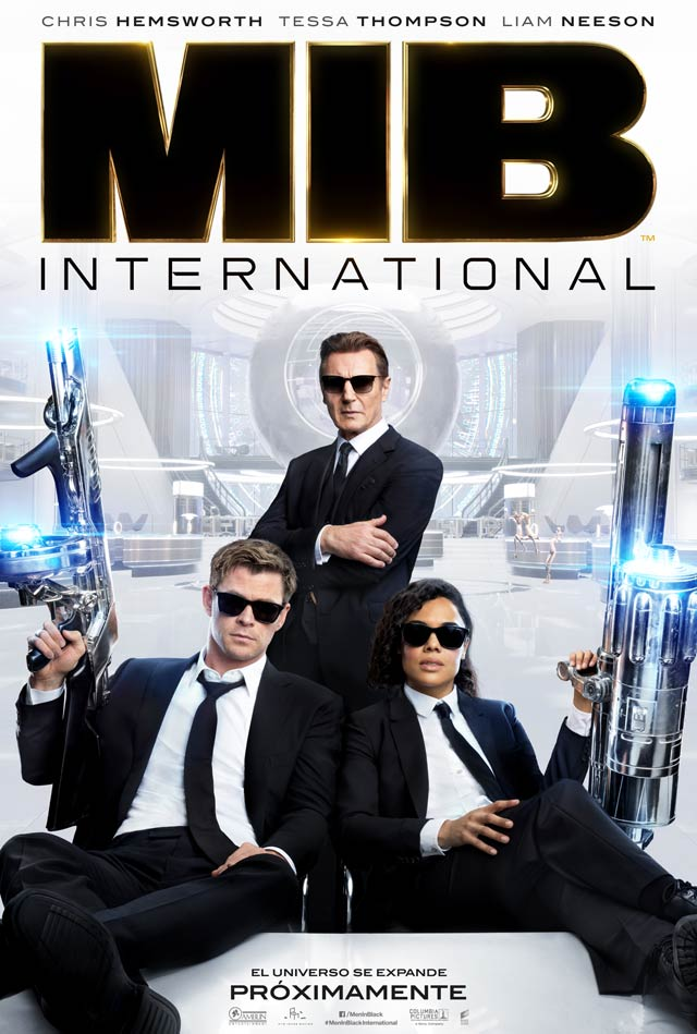 Men in Black: International - cartel