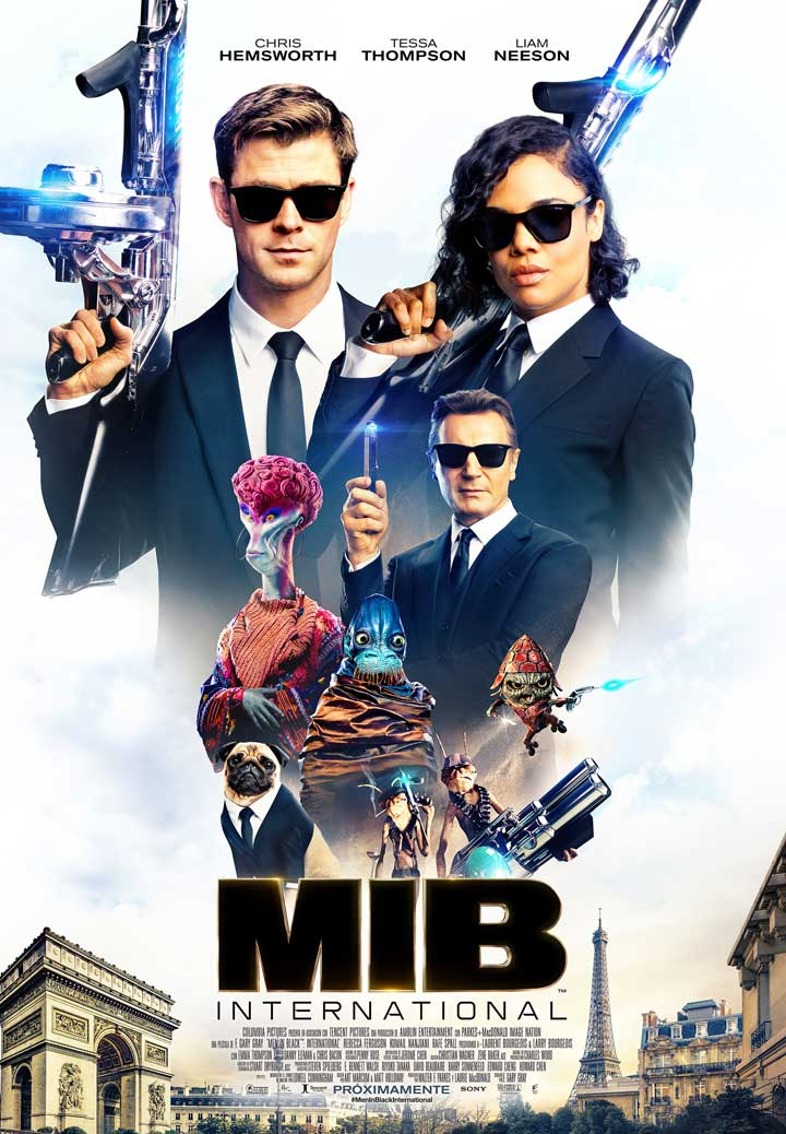 Men in Black: International - cartel final