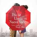 Día de lluvia en Nueva York - cartel reducido