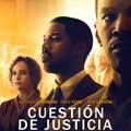 Cuestión de justicia - cartel reducido