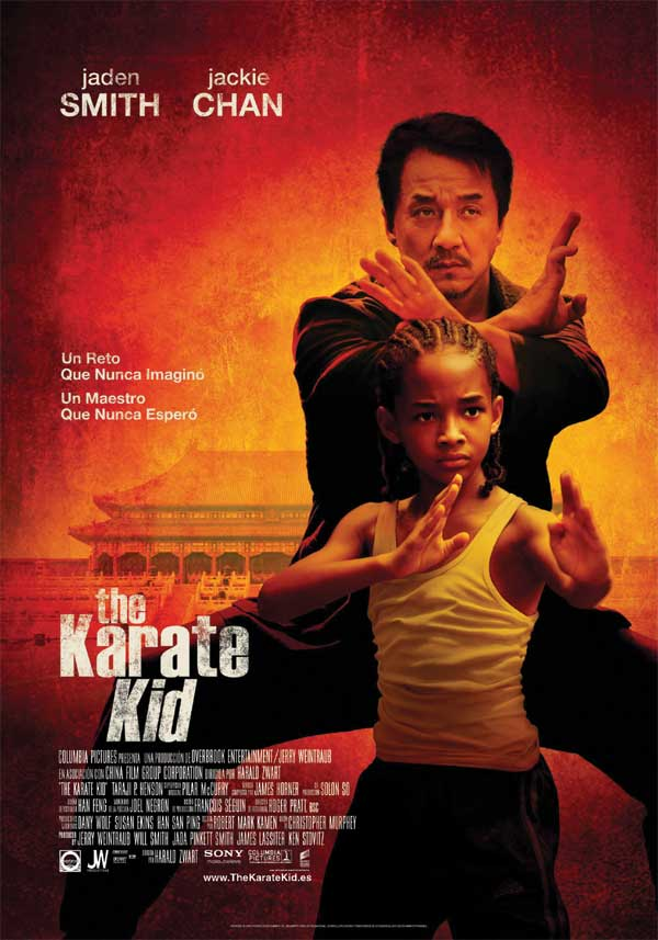 The Karate Kid cartel de la pelicula