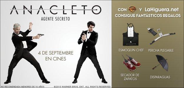 Info concurso Anacleto: Agente secreto