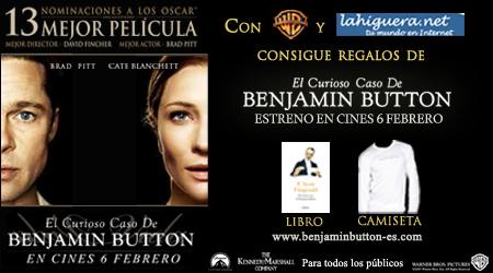 Info concurso El curioso caso de Benjamin Button
