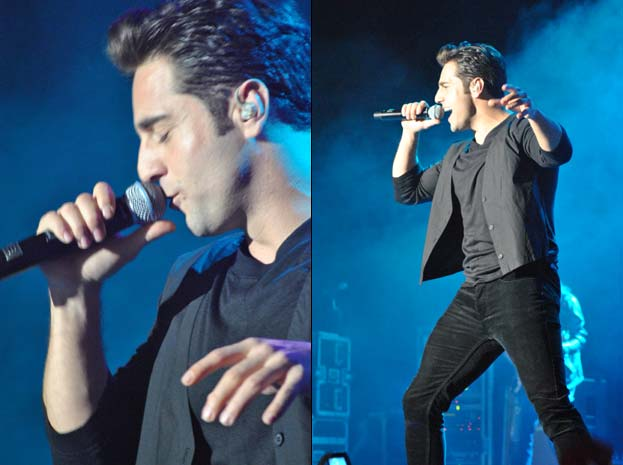 David Bustamante en Madrid 1