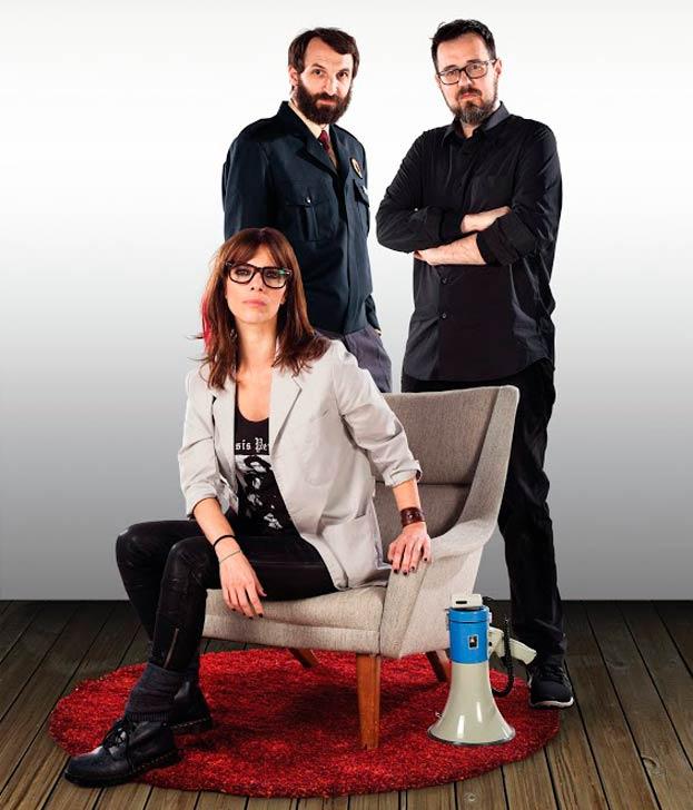 El equipo de Ultravioleta, con Paco Plaza, Maribel Verdú y Julián Villagrán