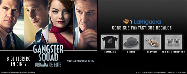 Info Gangster Squad
