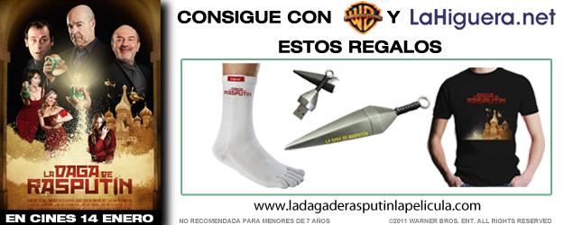 Info concurso La daga de rasputin