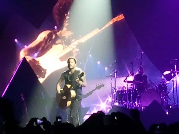 Lenny Kravitz en Barcelona 2012 3