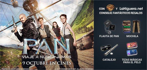 Info concurso Pan: Viaje a Nunca Jamás